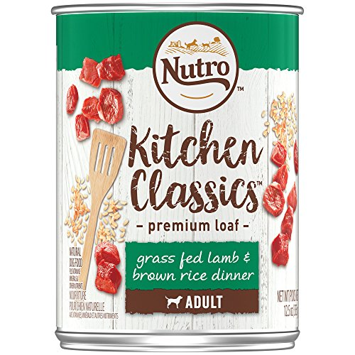 cs Adult Canned Wet Dog Food Premium Loaf Grass Fed Lamb & Brown Rice Dinner, (12)  12.5 Oz. Cans ()