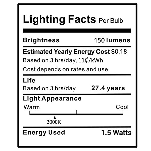 KINDEEP-12V-G4-LED-Bulb-Bi-Pin-Base-20W-Halogen-Bulb-Replacement-G4-Base-Warm-White-3000K-10-Pack