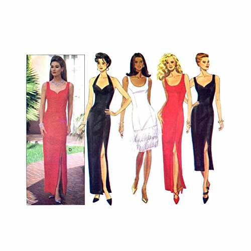 Uncut Vintage Butterick Pattern Dress - 4