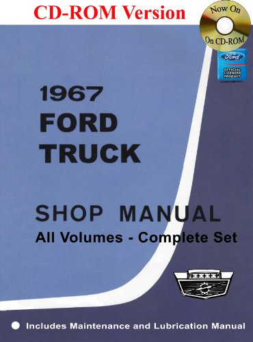 1967 Ford Truck Shop Manual (1967 Ford Trucks)