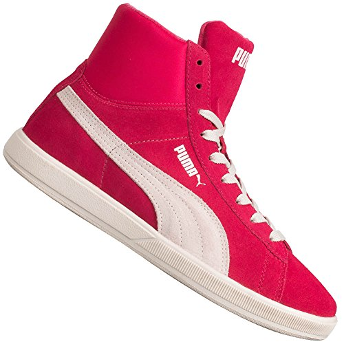 Chaussures Femme Puma Archive lite Mid Suede Rose