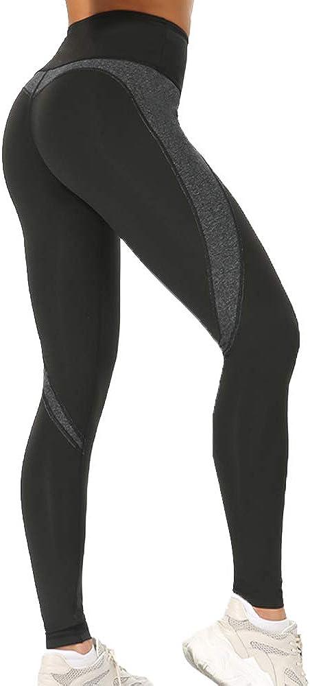 Leggings de Entrenamiento, Leggings de Yoga para Mujeres, Pantalones de chándal Spandex, Gimnasio Fitness