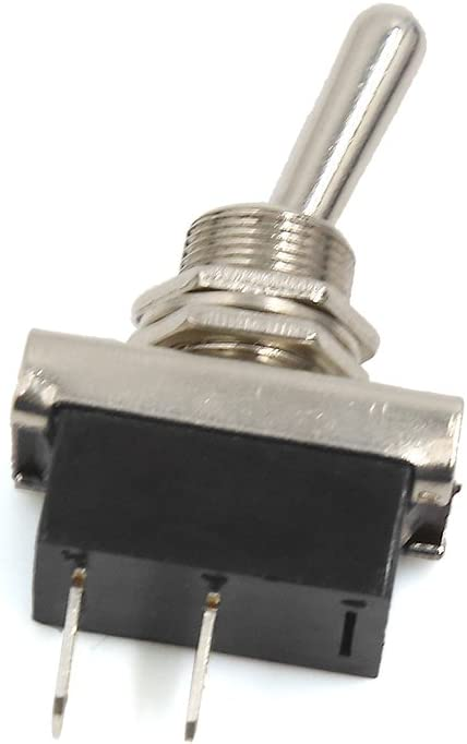 uxcell 2Pin DC 12V 25A SPST ON//OFF Car Automobile Dash Light Toggle Rocker Switch