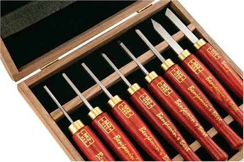 8pc Benjamin's Best HSS Micro Detailing Anniversary Set by PSI Woodworking