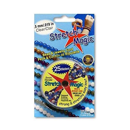 Stretch Magic .5mm 25mm Clear Bead & Jewelry Cord