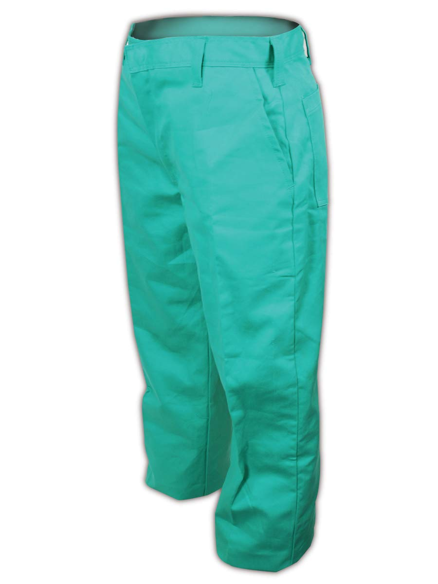 40x30 Magid Glove /& Safety 1531RF-40X30 Magid 1531RF Arc-Rated 9 oz FR Cotton Relaxed Fit Pants 40x34 Green