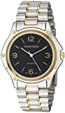 Viva Time Men's 'Timetech' Quartz Stainless Steel Casual Watch, Color:Two Tone (Model: 2678M)