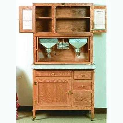 Build-Your-Own Hoosier Kitchen Cabinet Plan - American Furniture Design & Build-Your-Own Hoosier Kitchen Cabinet Plan - American Furniture ...