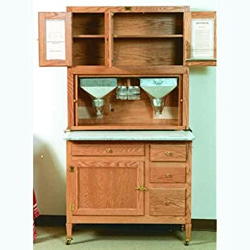 Build Your Own Hoosier Kitchen Cabinet Plan   American Furniture Design
