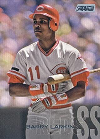 online store 05e57 54756 Amazon.com: 2018 Topps Stadium Club #164 Barry Larkin ...