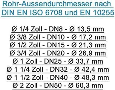 Résistance électrique pour ballon 2kW 2000W 230V avec thermostat 6//4/'/' W085D