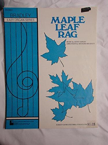 Maple Leaf Rag - Easy Organ Series