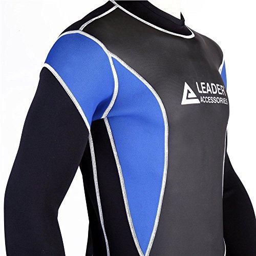 2dff219707 Jual Leader Accessories 2.5mm Black Blue Men s Fullsuit Jumpsuit ...