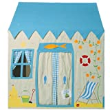 Win Green Cotton Play Tent Small Beach House