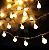 Arespark Led String Light Ball String Fairy Lighting for Garden Home Landscape Holiday Christmas Wedding Party Decorations- Warm White
