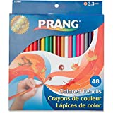 Prang - Colored Woodcase Pencils, 3.3 mm, 48