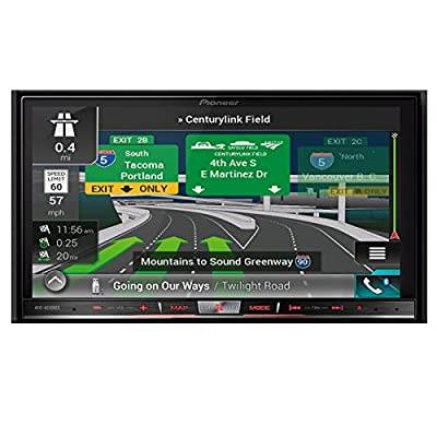 """Pioneer AVIC-8200NEX In Dash Double Din DVD CD Navigation Receiver with 7"""" Touchscreen"""