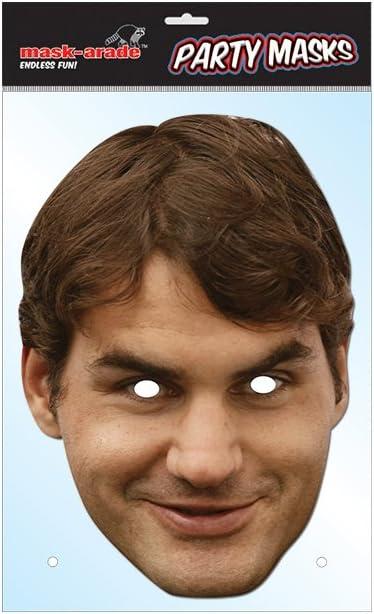 Roger Federer mask (máscara/careta)