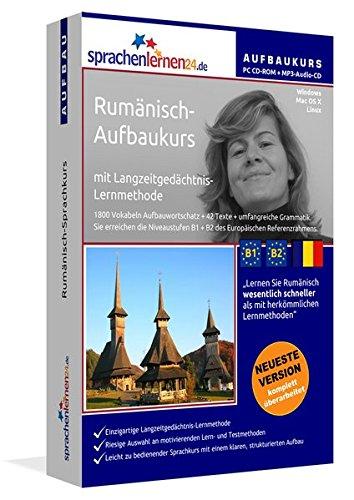 Rumänisch-Aufbaukurs: Lernstufen B1+B2. Lernsoftware auf CD-ROM + MP3-Audio-CD für Windows/Linux/Mac OS X. Fließend Rumänisch lernen für Fortgeschrittene mit Langzeitgedächtnis-Lernmethode