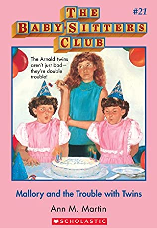 book cover of Mallory and the Trouble With Twins
