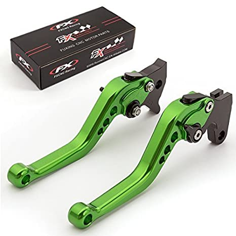 Amazon.com: FXCNC Racing CNC Aluminum Short Adjustable Brake Clutch Levers for YAMAHA YFM700 Raptor 700R 2007-2018: Automotive