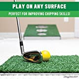 Play Platoon Golf Cornhole Chipping Game for Adults and Kids - Great Putting Practice Golfer Gift for Men & Women