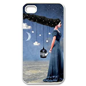 HEHEDE Phone Case Of Fantasy Fashion Style Colorful Painted for iPhone 4/4S