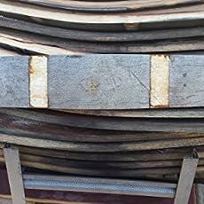 Amazoncom Authentic Used Wine Barrel Hoop Band Free Shipping