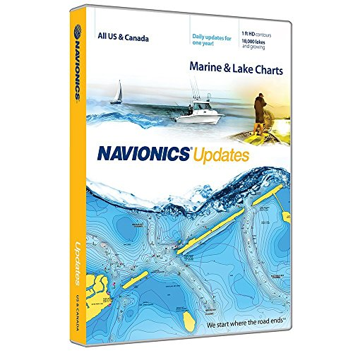 Navionics Updates US and Canada Marine and Lake Charts on SD/MSD (Best Sailing Lakes In Us)