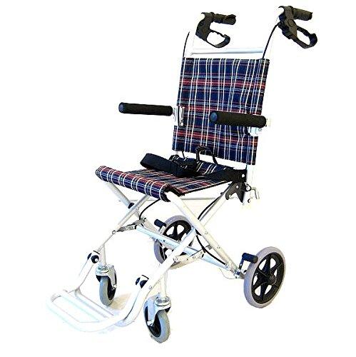 【タッチ】折りたたみ式 簡易車椅子 A502-AK 専用バッグ付き B005WNK0IM