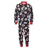 Liverpool FC Official Football Gift Boys Kids Pyjama Onesie Black 9-10 Years