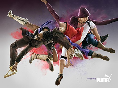 **PRINT AD** With Arnie Zane Dance Company For 2007 Puma Athletic