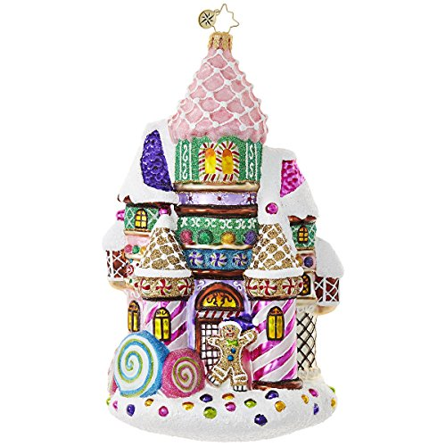 Christopher Radko Castle Christmas Candy & Sweets Christmas Ornament