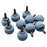 "Pawfly 10PCS Ball Shaped 0.8"" Air Stone Mineral Bubble Diffuser Airstones for Aquarium, Fish Tank, Pump and Hydroponics"