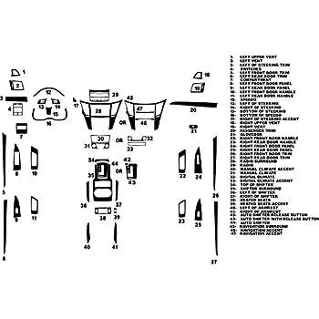 Rdash Carbon Fiber Dash Kit for Subaru Legacy Outback 2007-2009