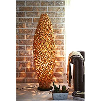 Modern home nautical driftwood floor lamp household lamps amazon othentique large driftwood cage floor lamp handmade with drift wood branches for rustic coastal nautical home decor or beach house cabin theme style aloadofball Image collections