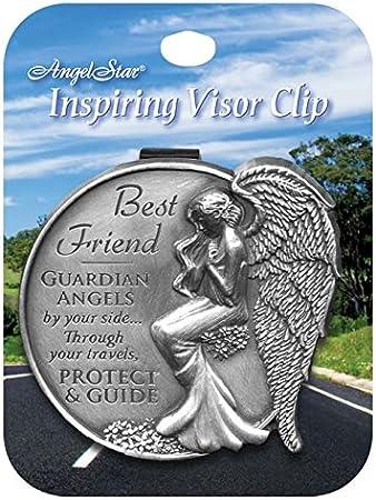 AngelStar 15691 Best Friend Guardian Angel Visor Clip Accent 2-1//2-Inch