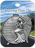 Angelstar 15691 Best Friend Guardian Angel Visor Clip Accent, 2-1/2-Inch