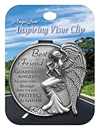 AngelStar 15691 Best Friend Guardian Angel Visor Clip Accent, 2-1/2-Inch
