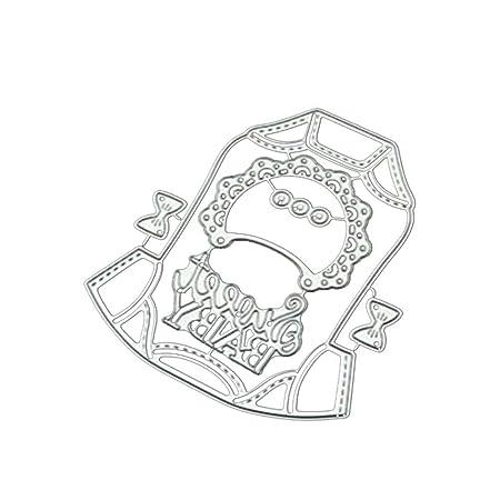 ikavee - Molde de acero al carbono para cortar, diseño de ...