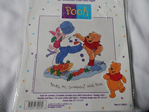 Pooh Counted Cross Stitch Kit - Needlepoint Nativity