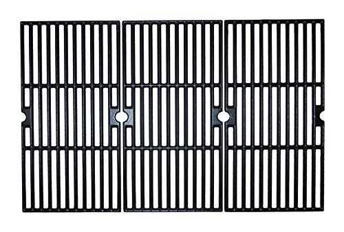 Music City Metals 61173 Matte Finished Cast Iron Cooking Grid for Select Charbroil Brand Gas Grill-griddles