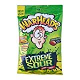 Warheads Extremely Sour Candy: 92g (3.25oz) Bag