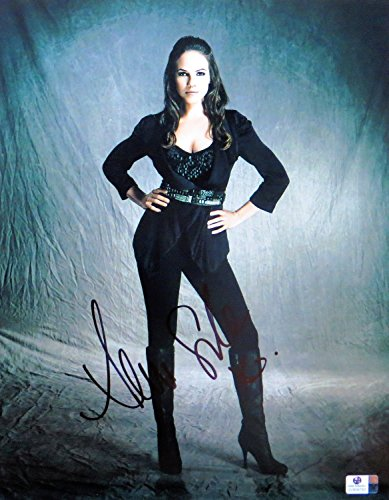 Anna Silk Signed Autographed 11X14 Photo Lost Girl Sexy Black Outfit GV809793 (Sexy Outfits Online)
