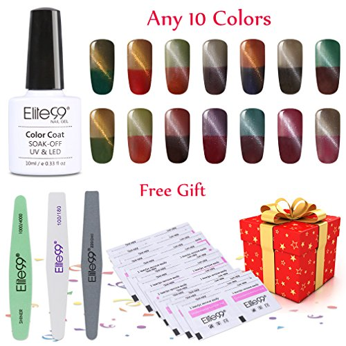 Elite99 Pick Any 10 Colors Soak Off Gel Nail Polish UV LED C