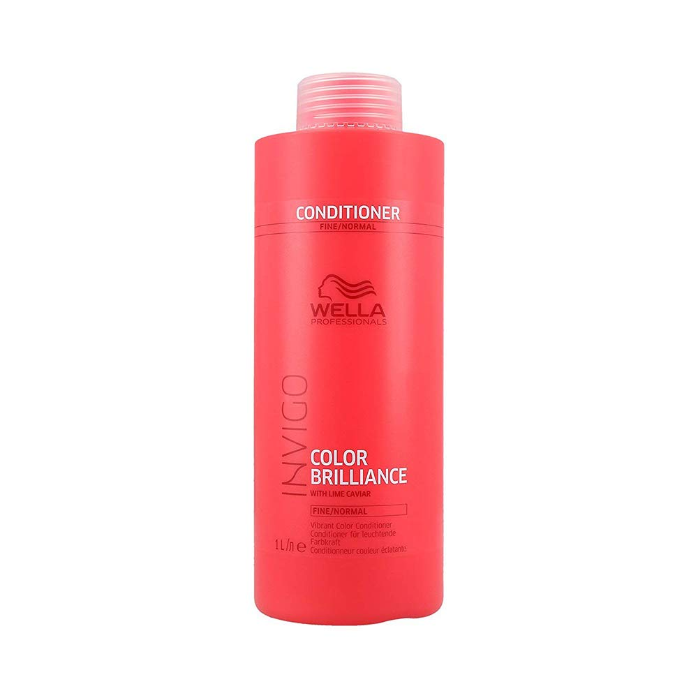 Wella INVIGO Color Brilliance Vibrant Color Conditioner For Fine/Normal Hair 1000ml W648840-PZ