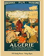 Weekly Planner - Vintage Algeria: Monthly and Weekly Planner   Vintage Travel Poster Cover   Jan 1, 2022 to Dec 31, 2022   Full Year Calendar Page   8.5 X 11 Inches   120 Pages   Inspirational Quotes & Pages for Notes
