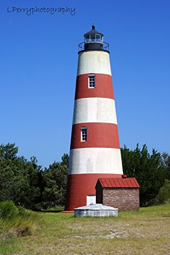 Sapelo Island Lighthouse photographic print ()