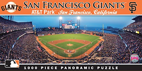 (MasterPieces MLB San Francisco Giants Stadium Panoramic Jigsaw Puzzle, 1000-Piece)