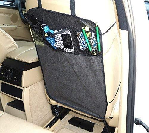 Rückenlehnenschutz Sitzschoner Lehnenschutz Hecksitzschoner Mit 3 Taschen Auto